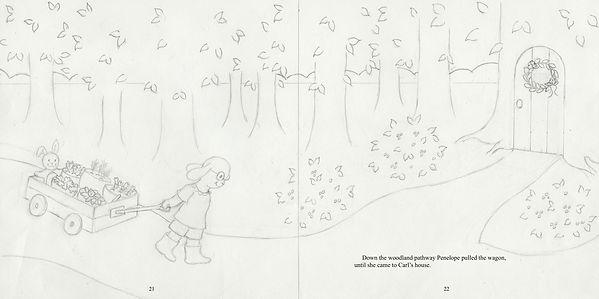 Penelope's Plan, 21-22, final drawing 2.