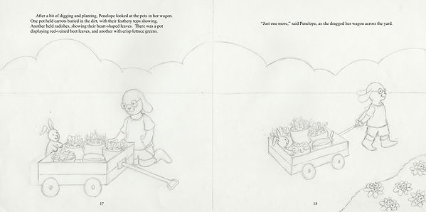 Penelope's Plan, 17-18, final drawing 2.