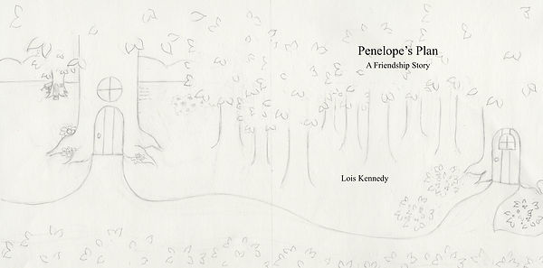Penelope's Plan - dedication, 2nd title,