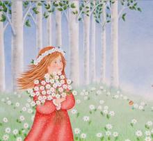 Rebecca Sue with Daisies
