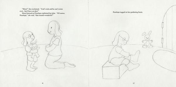 Penelope's Plan. 11-12, final drawing 2.