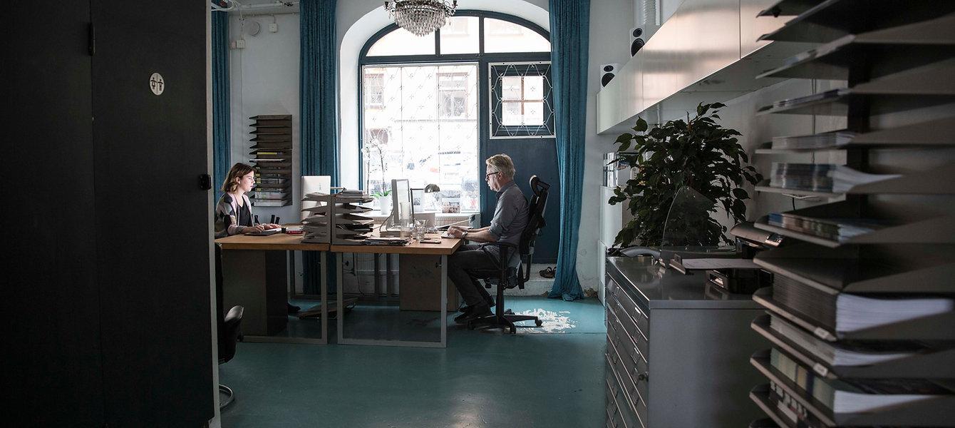 The Factory of Design jobbar med tidningar