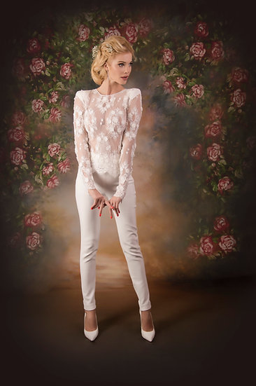 EXQUISITE LONG TROUSERS