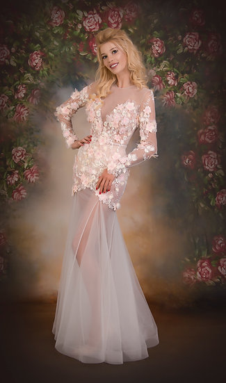 ROMANTIC EVENING DRESS