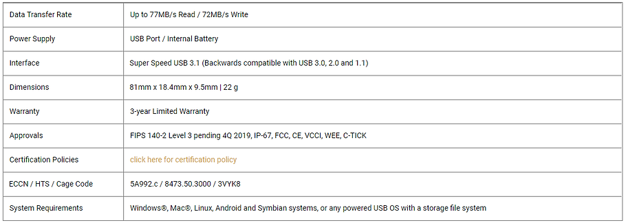 Aegis Secure Key 3NX specifications.png