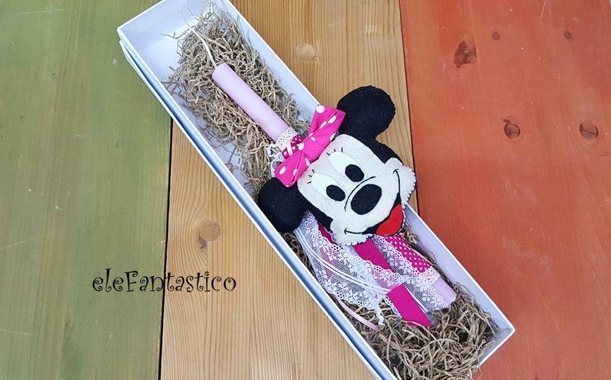 Λαμπάδα Minnie Mouse