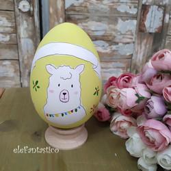Πασχαλινό αυγό ξύλινο
