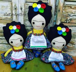 Κούκλα Frida Kahlo