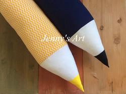 μολύβια μαξιλάρια