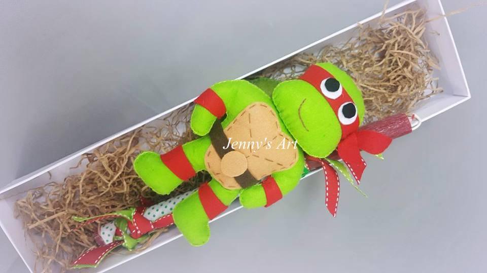 Λαμπάδα χελωνονιντζάκι
