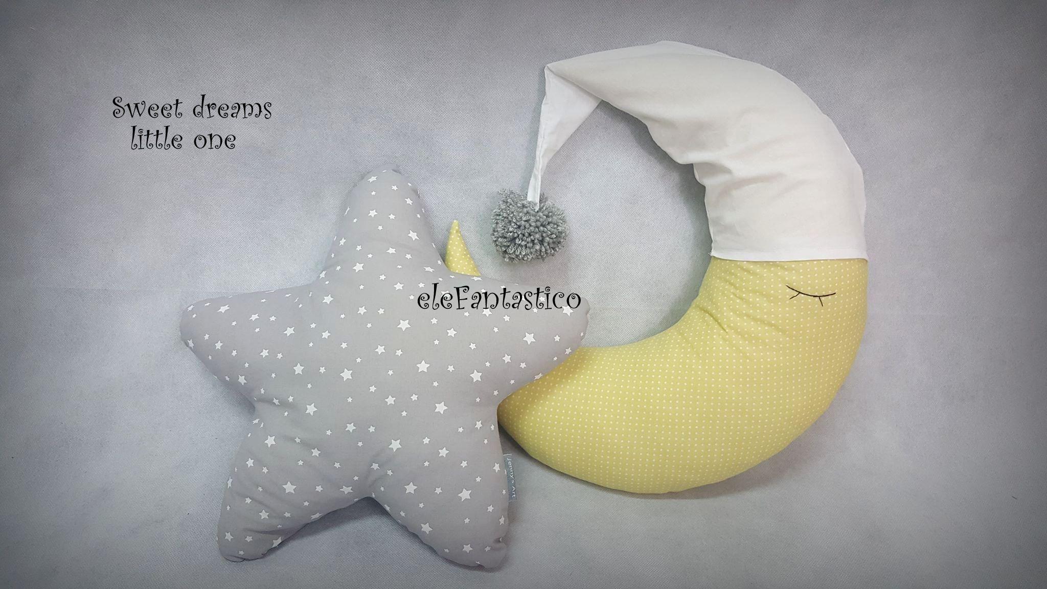 Μαξιλάρια Φεγγαράκι & αστεράκι