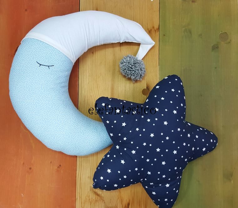 Μαξιλάρια φεγγαράκι αστέρι