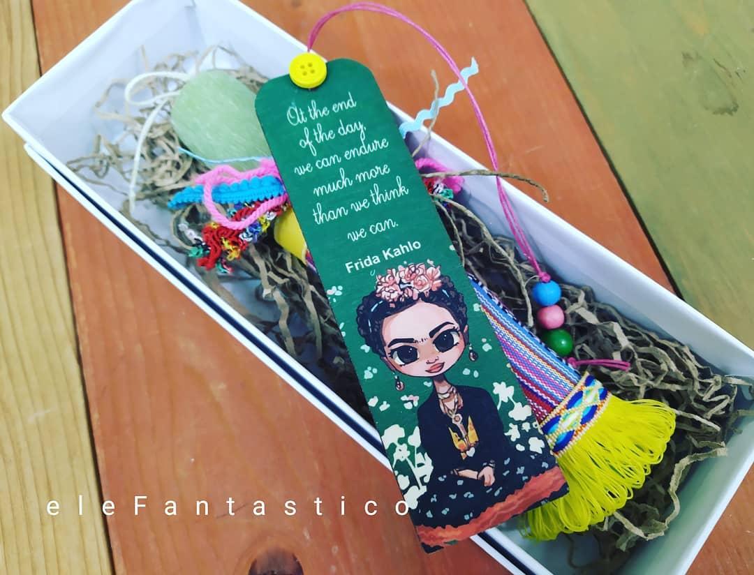 Λαμπάδα με σελιδοδείκτη Frida Kahlo