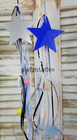 Μπομπονιέρα αστέρι plexiglass