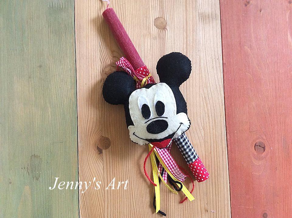 λαμπάδα Mickey Mouse