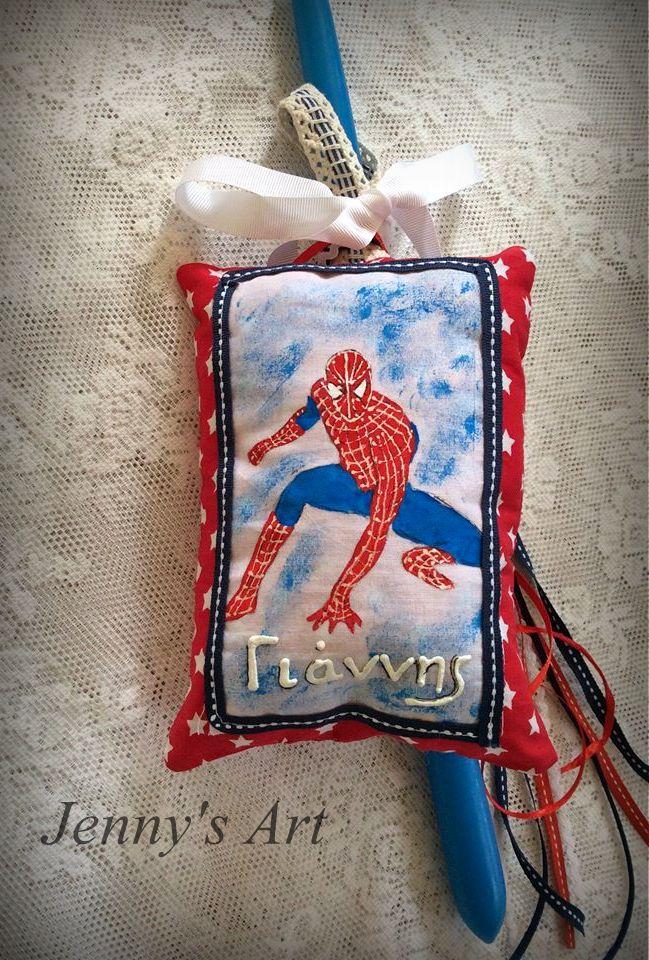 λαμπάδα Spiderman