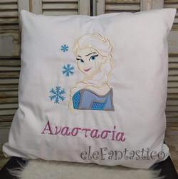 Μαξιλάρι Frozen Elsa