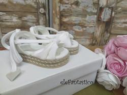 Παπουτσάκια βάπτισης κορίτσι