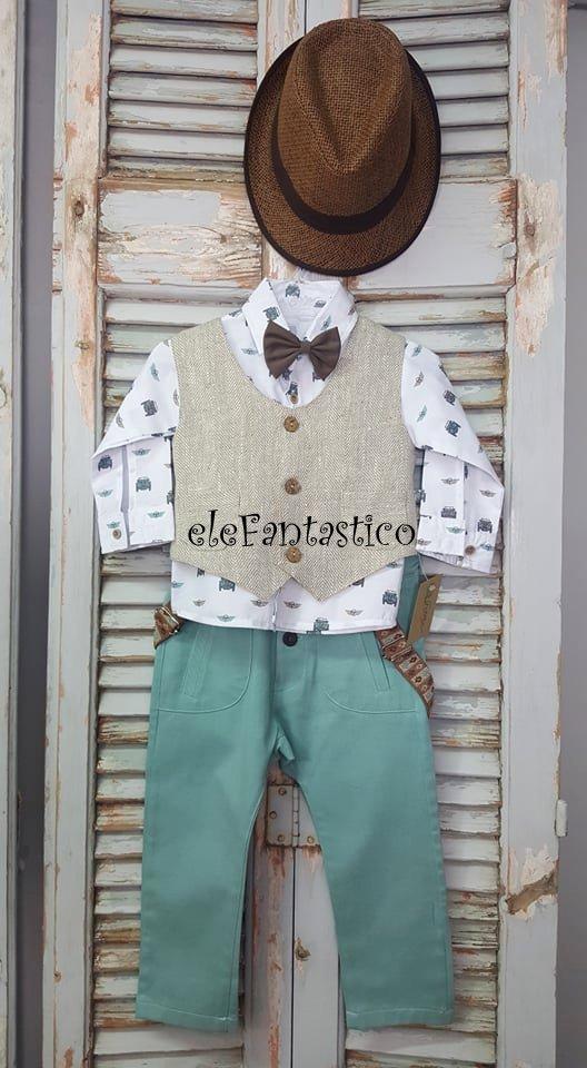 Bαπτιστικό ρούχο αγόρι