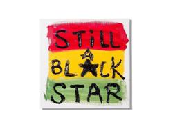 """""""Still A Black Star """"title"""