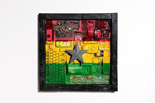 Ghana's Flag prototype