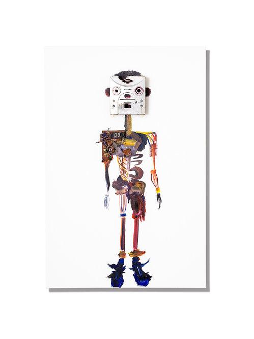 電子廃棄物人体模型