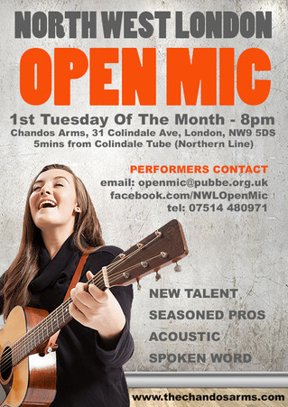Open Mic Coming Soon!