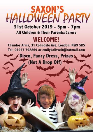 Saxon's Halloween Party