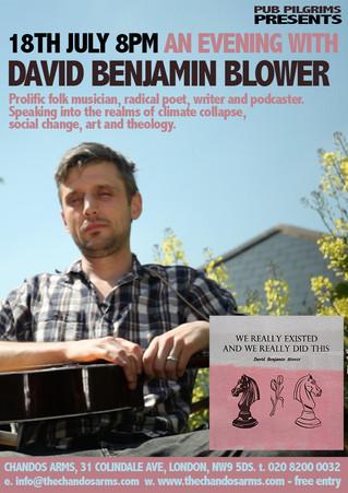An Evening with David Benjamin Blower