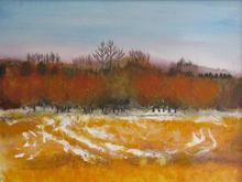 Winter landscape   50 by 70cms