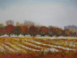 January Walter's winter canvas