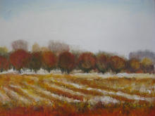 January Walter's winter canvas 50 by 70cms
