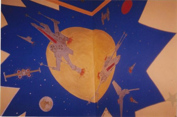 Children's mural Star Wars