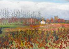 Big Landscape on canvas  2012 120 by 80cms