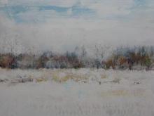 Winter landscape Heerbaan 50 by 50cms