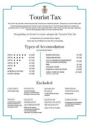 TOURIST TAX
