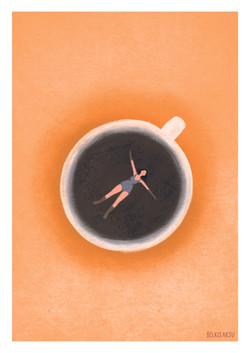 Swimming in the Coffee Pool