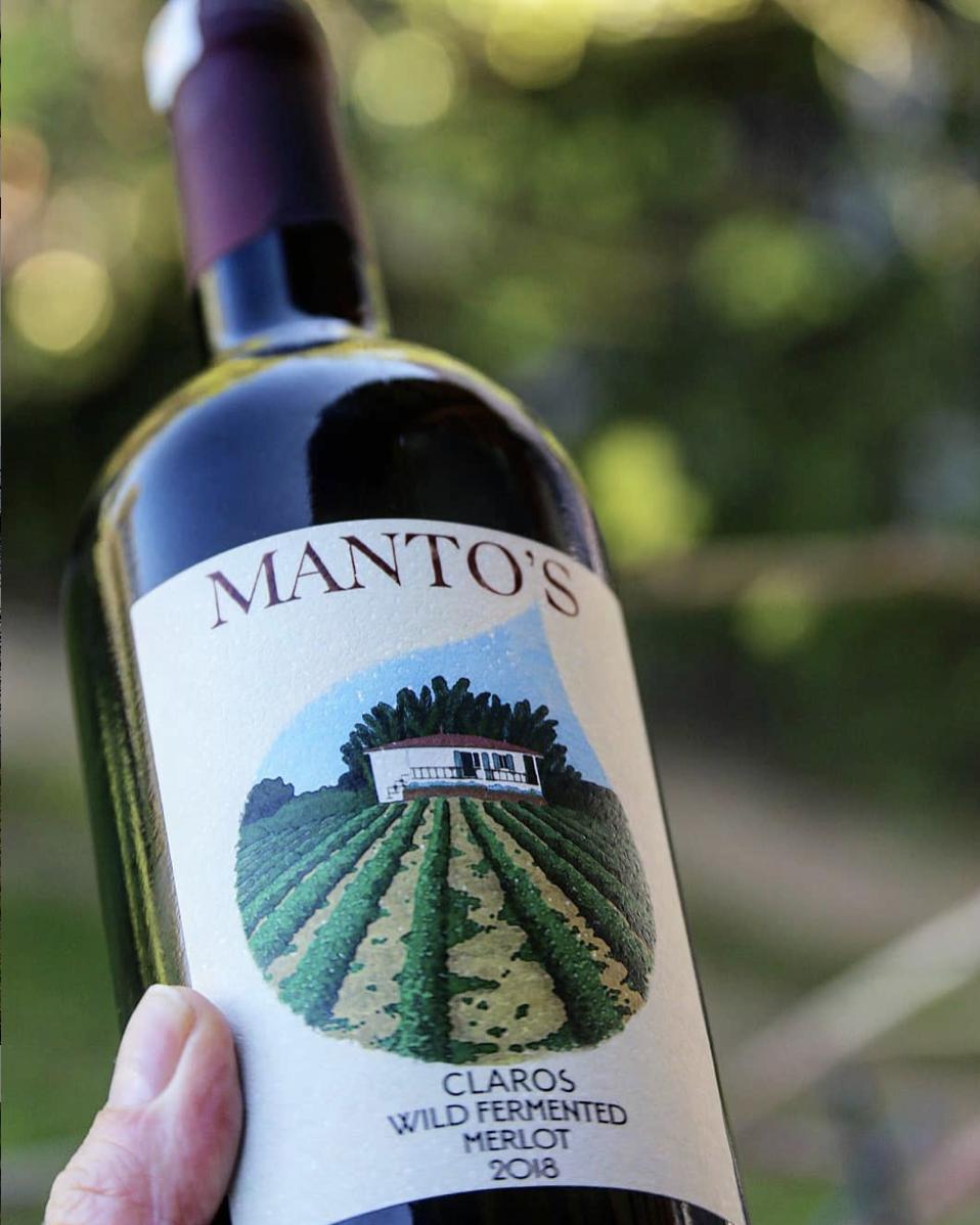 Wine Label Design for Claros