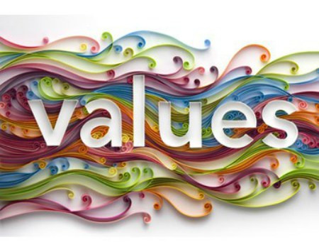 How to align with your values.   (In other words, finding more fulfilment in what you do.)
