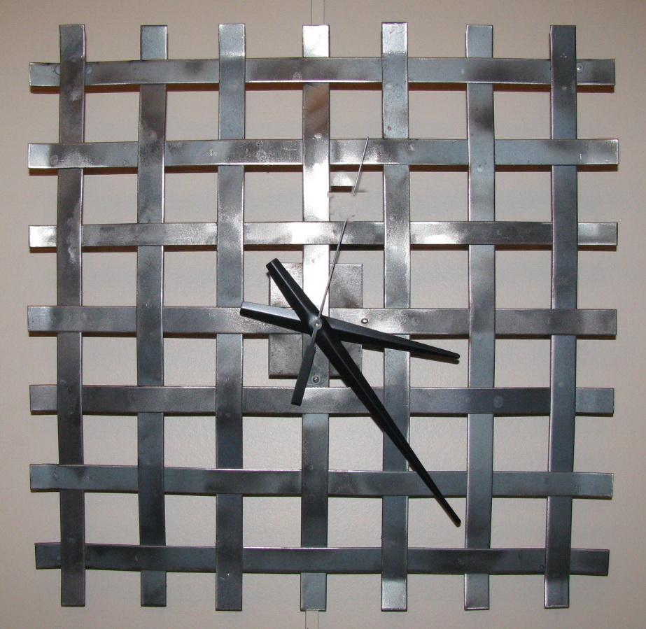 Woven Clock