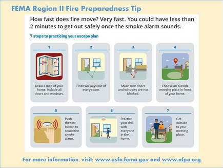 Fire Safety Advice from FEMA
