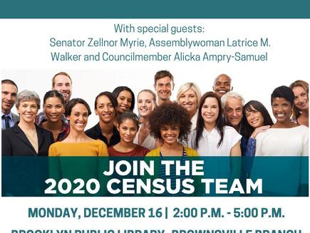 Brooklyn Census Job Fair (Brownsville)