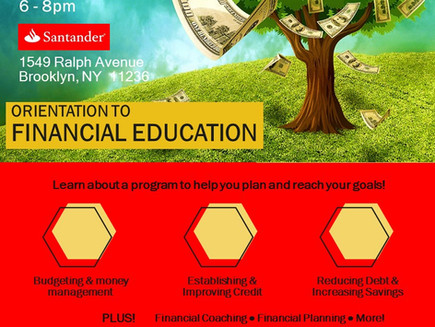 Financial Education Orientation