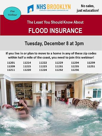 Flood Insurance Webinar 12082020 NO LINK