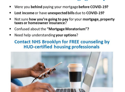 Foreclosure and mortgage help during COVID-19