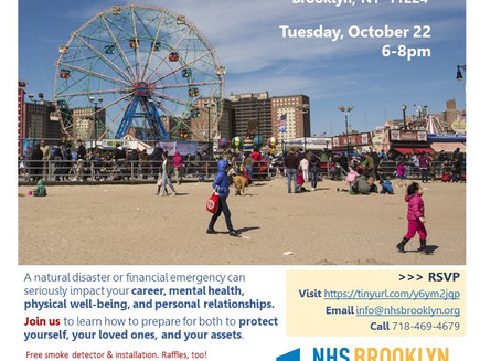 Protect Your Home, Family & Wallet from Disasters (Coney Island)