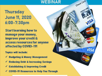 Financial Coaching and Credit Improvement Webinar