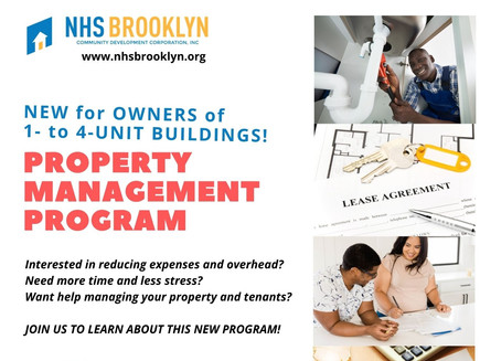 New! Property Management for Owners of 1-4 Unit Homes & Buildings