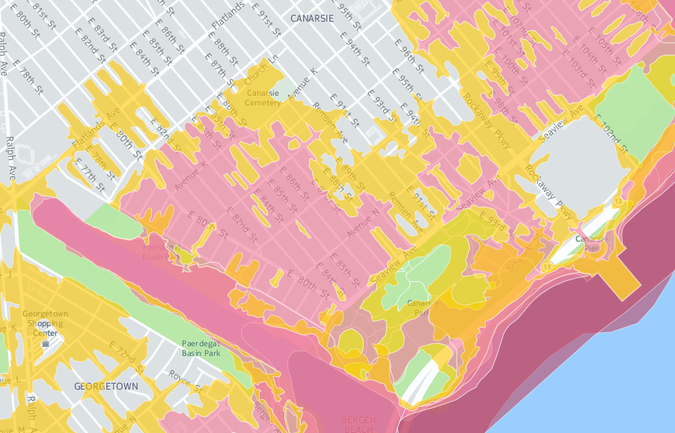 NYC Planning releases report on Canarsie resiliency to floods