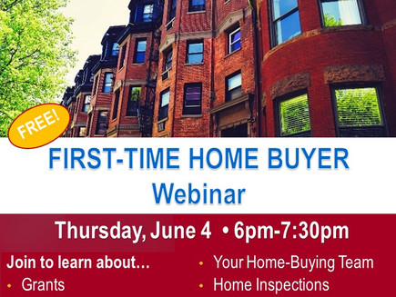 First-Time Home Buyer Webinar